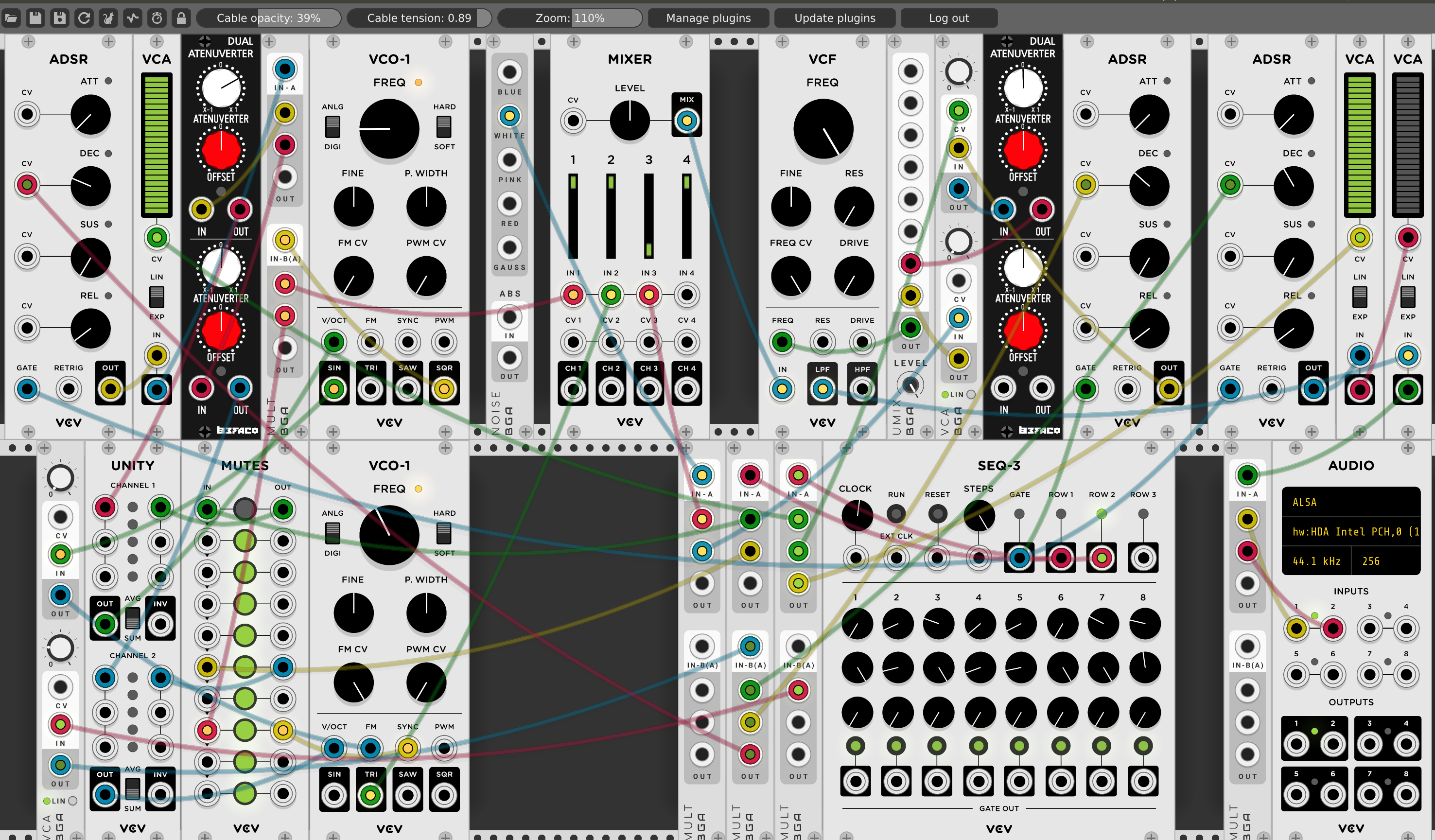 DFAMe: VCV Rack DFAM Thing - John Hume, duelinmarkers com